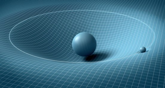 curved space ball
